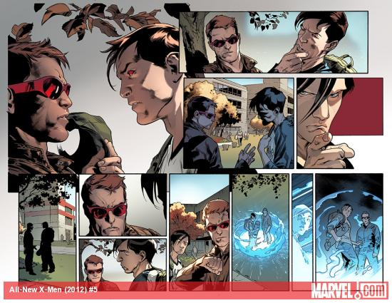 All-New X-Men #5 preview art by Stuart Immonen