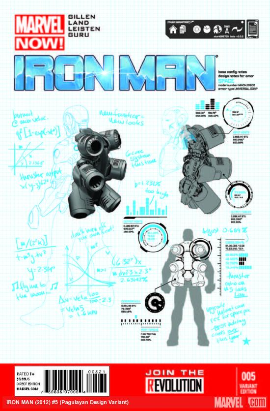 IRON MAN 5 PAGULAYAN DESIGN VARIANT (NOW, 1 FOR 25, WITH DIGITAL CODE)