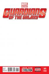 Guardians of the Galaxy #1  (Blank Cover Variant)