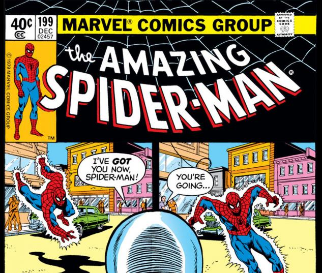 Amazing Spider-Man (1963) #199 Cover