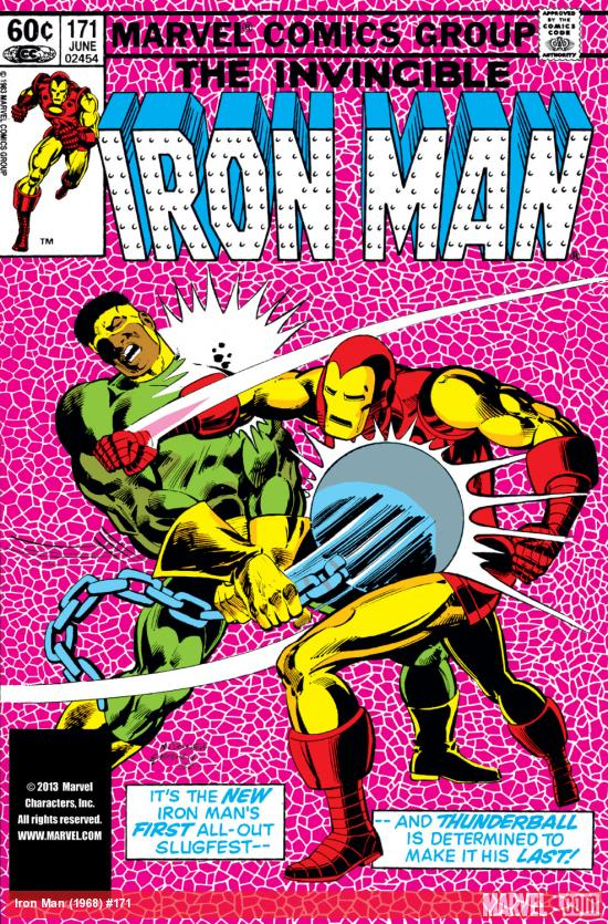 Iron Man (1968) #171 Cover
