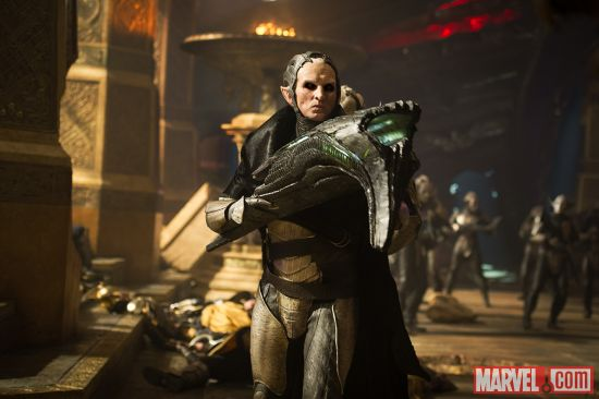 Christopher Eccleston stars as Malekith in Marvel's Thor: The Dark World