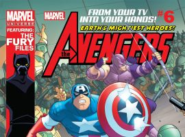 Marvel Universe AVENGERS: EARTH'S MIGHTIEST HEROES  (2011) #6 Cover