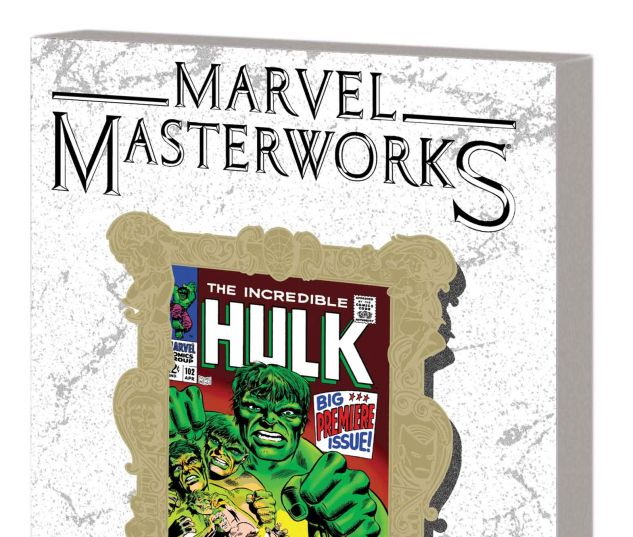 MARVEL MASTERWORKS: THE INCREDIBLE HULK VOL. 3 TPB VARIANT (DM ONLY)