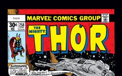 Thor (1966) #258 Cover
