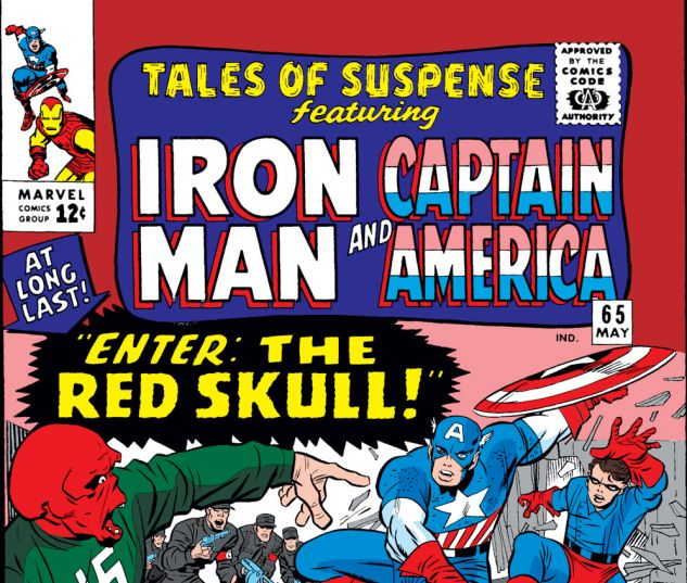 Tales of Suspense (1959) #65 Cover