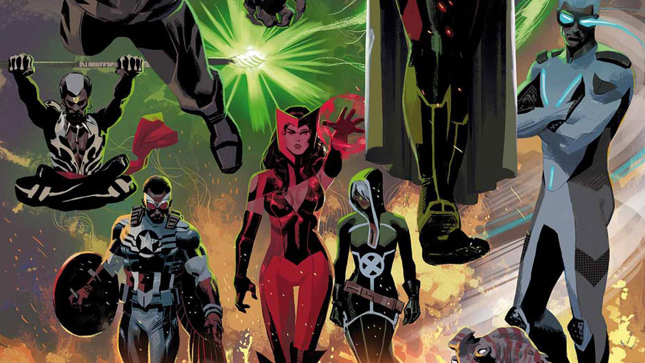 Uncanny Avengers by Daniel Acuna
