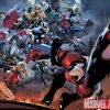 Image Featuring Vision, Wiccan, Captain Marvel (Carol Danvers), Moonstone, Avengers, Young Avengers, Luke Cage, The Winter Soldier, Captain America, Stature, Norman Osborn, Speed, Patriot, Mockingbird, Spider-Woman (Jessica Drew), Secret Warriors