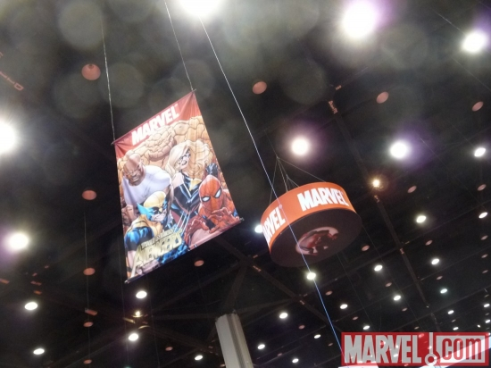 The New Avengers Banner at C2E2 2010