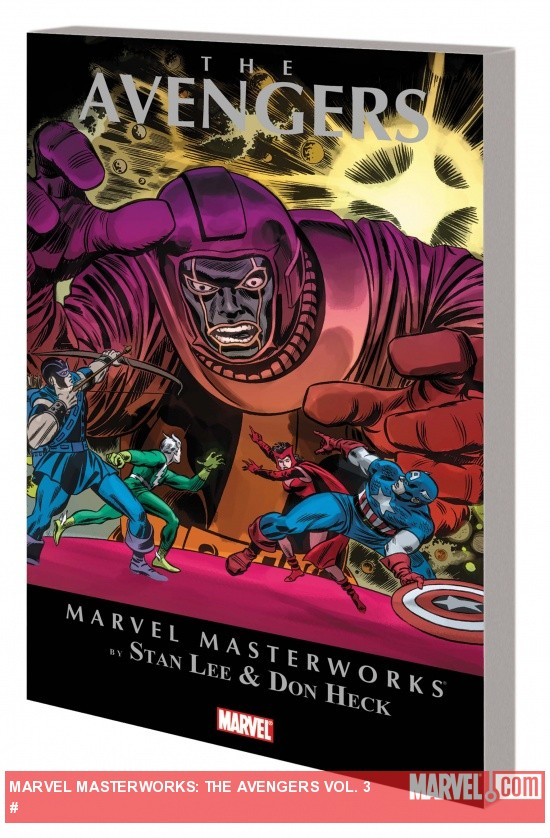 Marvel Masterworks: Avengers Vol. 3 TPB