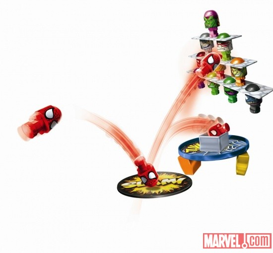 Hasbro Bonka Zonks Spider-Man Stackrobatic
