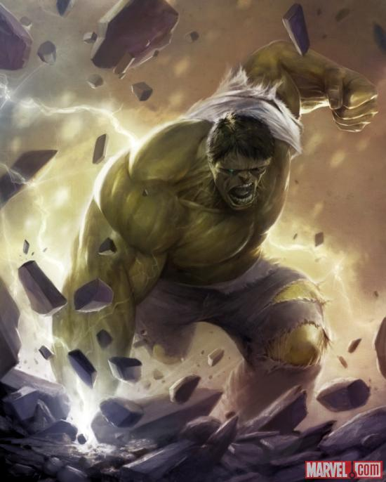 Hulk by Francesco Mattina from Marvel War of Heroes