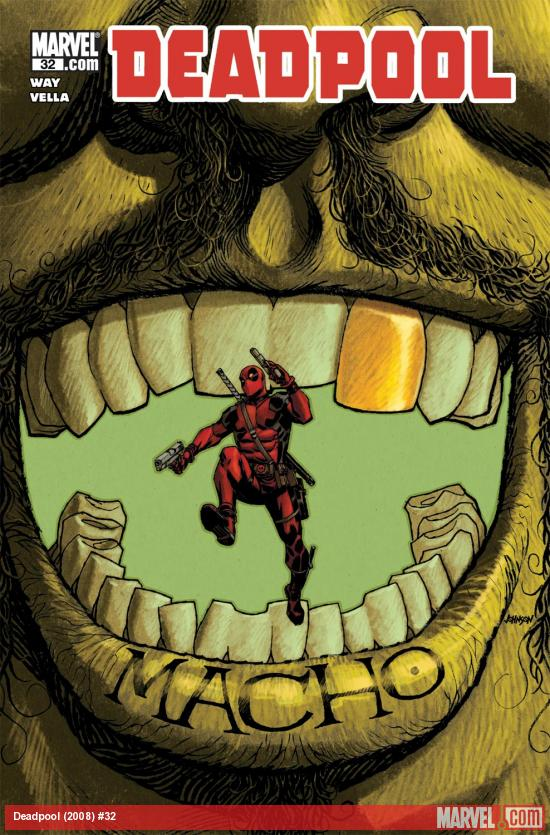 Deadpool (2008) #32 Cover