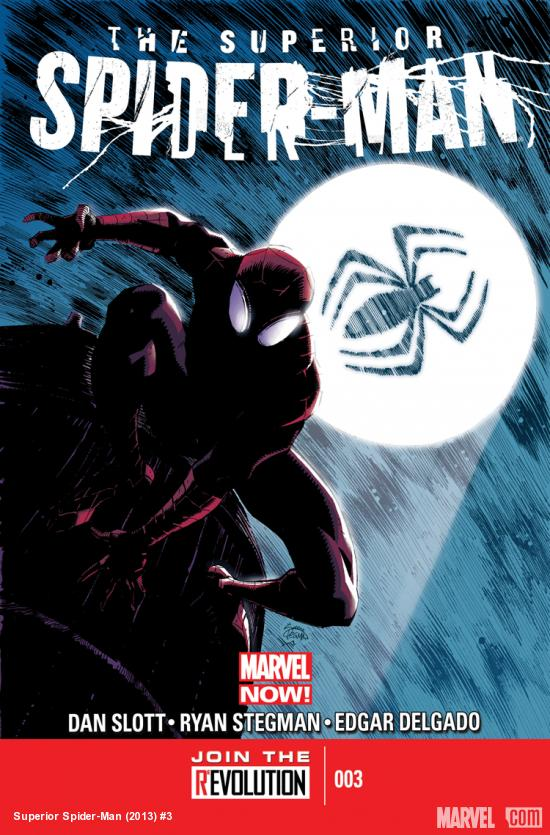 cover from Superior Spider-Man (2013) #3