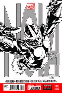 Nova (2013) #1 (Quesada Sketch Variant)