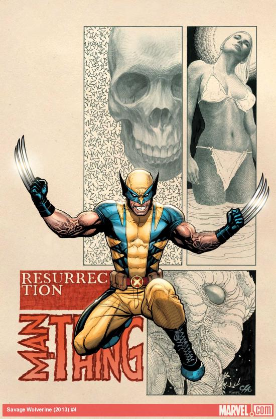 Savage Wolverine (2013) #4 Cover