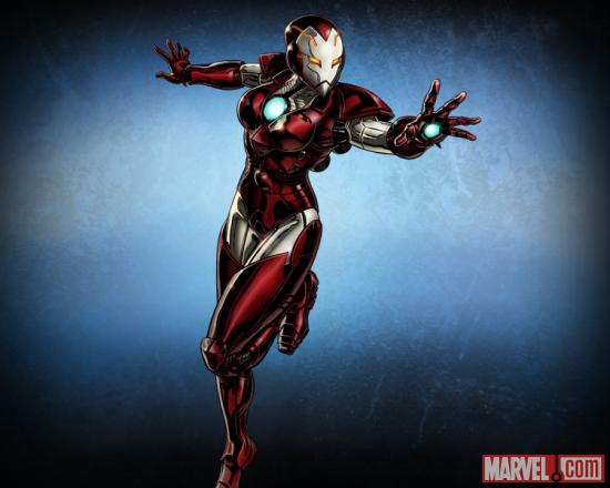 Rescue character model from Marvel: Avengers Alliance