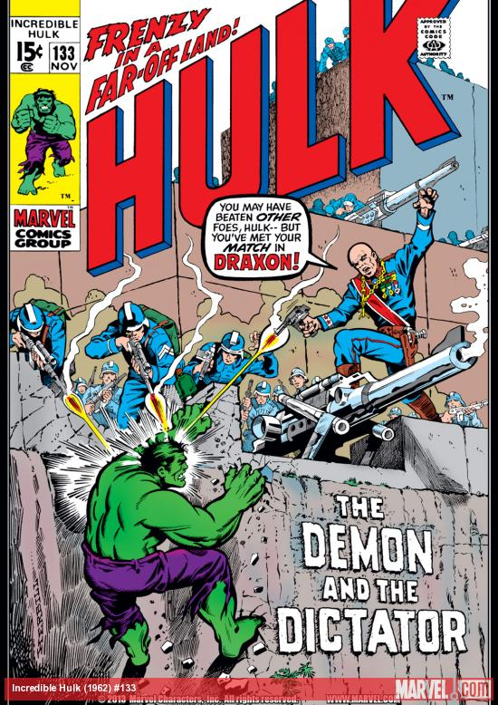 Incredible Hulk (1962) #133 Cover