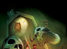 Seekers of the Weird #1 cover by Michael Del Mundo