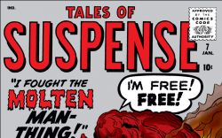 Tales of Suspense (1959) #7 Cover