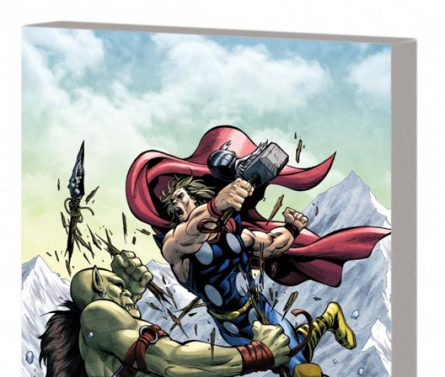 MARVEL ADVENTURES THOR &amp; THE AVENGERS DIGEST