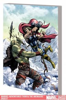Marvel Adventures Thor & the Avengers Digest (Digest)