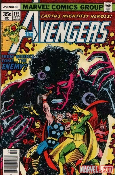 AVENGERS #175 cover by George Perez