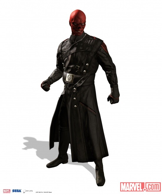 Red Skull render from Captain America: Super Soldier by Next Level Games