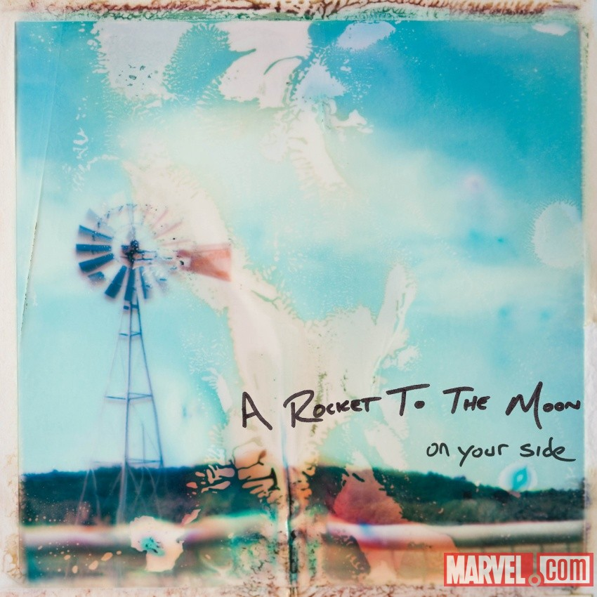 A Rocket to the Moon's 'On Your Side' album art