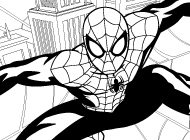More Ultimate Spider-Man Coloring