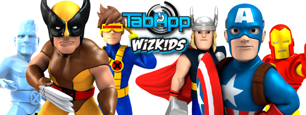 HeroClix TapApp Avengers and X-Men Figure Packs