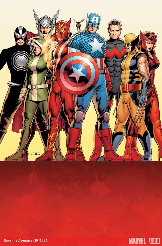 Uncanny Avengers #5 cover by John Cassaday