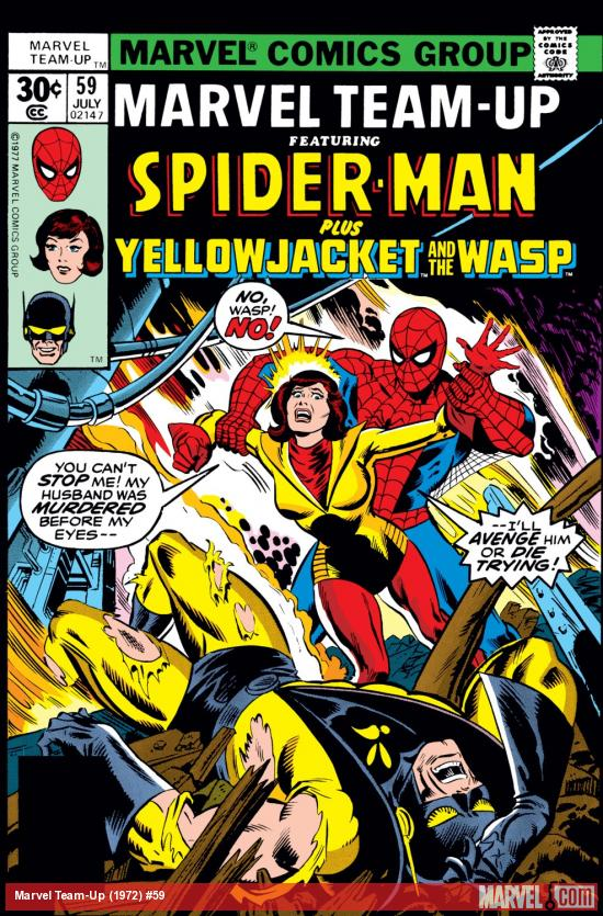 Marvel Team-Up (1972) #59 Cover
