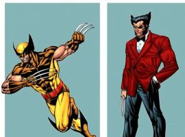 Marvel AR: Wolverine Fashion Through the Years