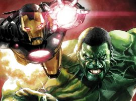 Hulk and Iron Man: Five Throw Downs And Bro-Downs