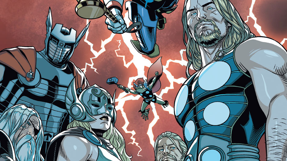 Thors #1 cover by Chris Sprouse