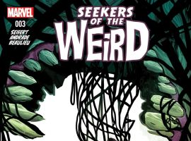 cover from Disney's Seekers of the Weird (2014) #3