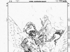 SECRET WARRIORS #1 variant cover pencils by Carlos Pacheco