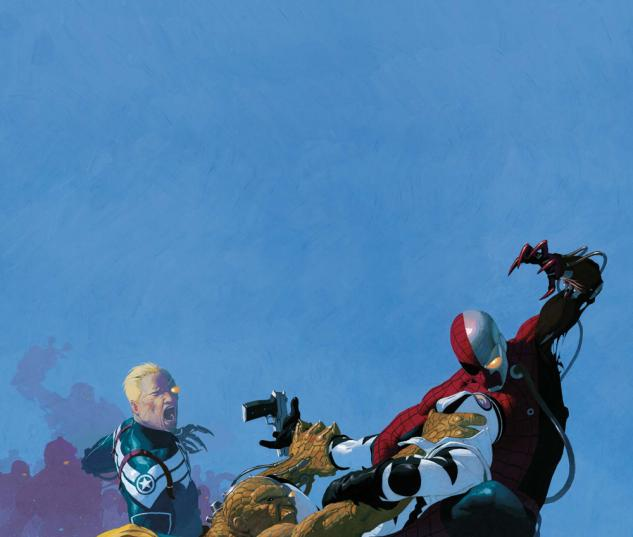 Uncanny X-Force #5 cover by Esad Ribic