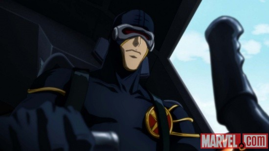 Cyclops guest stars in the Wolverine anime