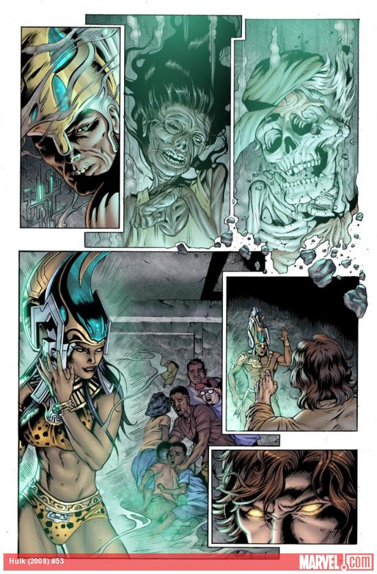 Hulk #53 preview art by Dale Eaglesham