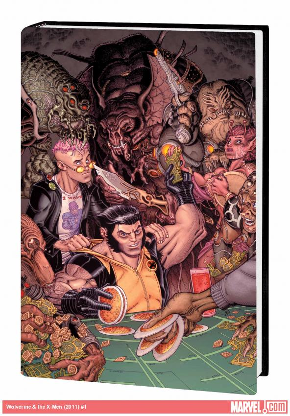 WOLVERINE & THE X-MEN BY JASON AARON VOL. 2 PREMIERE HC (COMBO)