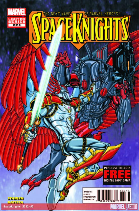 SPACEKNIGHTS 2 (WITH DIGITAL CODE)