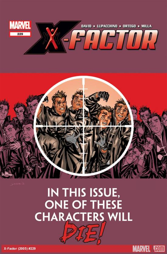 X-Factor (2005) #229 Cover