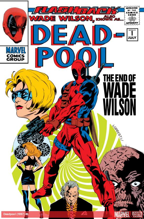 Deadpool (1997) Cover