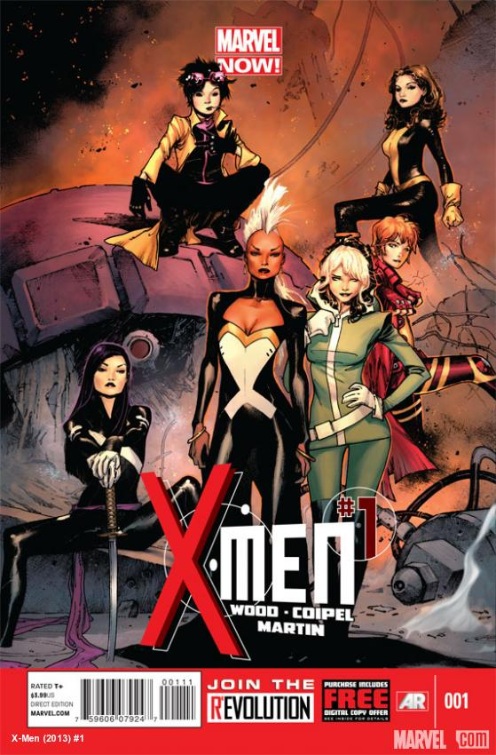 X-Men (2013) #1 cover by Olivier Coipel