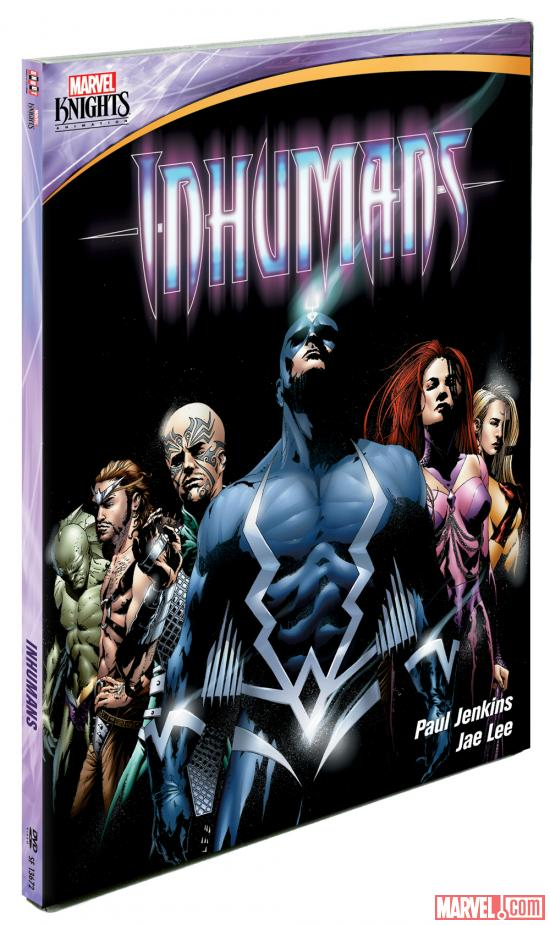 Inhumans comes to DVD from Marvel Knights Animation April 23