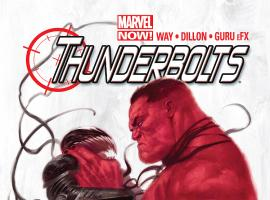 cover from Thunderbolts (2012) #2 (2ND PRINTING VARIANT)