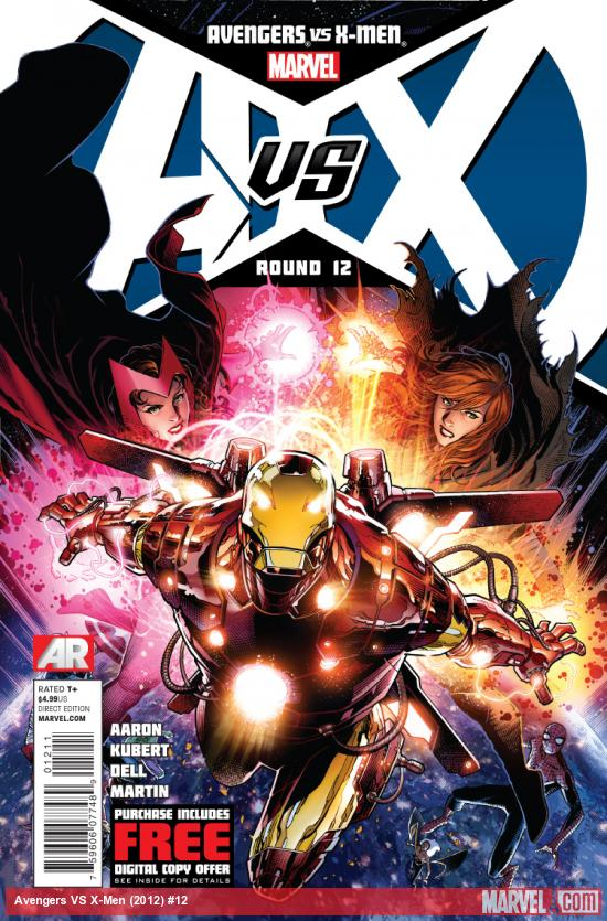 Cover: Avengers VS. X-Men #12