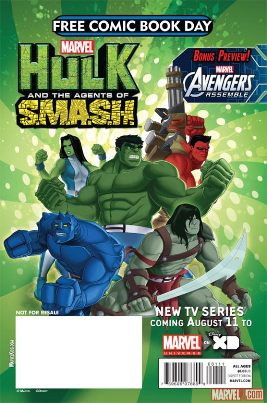 Free Comic Book Day: Hulk and the agents of S.M.A.S.H.
